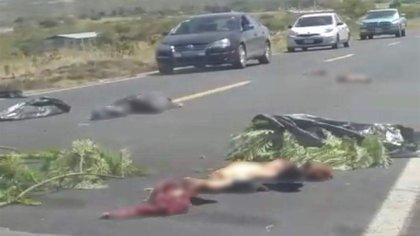 Guanajuato acumula 2,250 homicidios dolosos en lo que va del año, de acuerdo con datos oficiales (Foto: Twitter@fernand17704066)