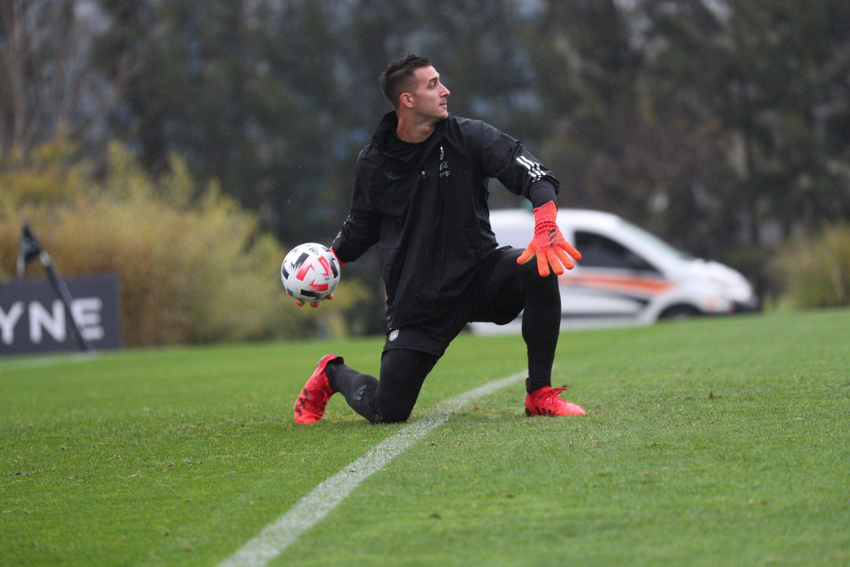 entrenamiento de Argentina