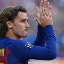 El francés aun no convirtió con la camiseta del Barcelona (AFP)