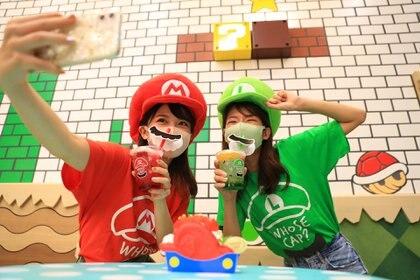 En el  Super Nintendo World hay cafés inspirados en Mario Bros y todos sus personajes (Universal Parks & Resorts)