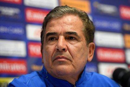 El entrenador Jorge Luis Pinto. EFE/Dan Himbrechts/Archivo
