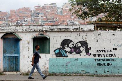 Venezuela vive la segunda ola de la pandemia (REUTERS/Leonardo Fernández Viloria)