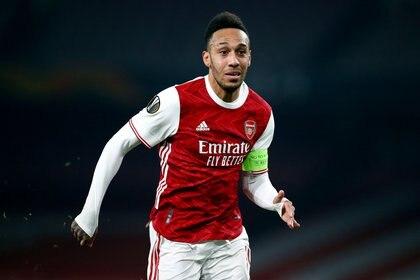 Pierre-Emerick Aubameyang es capitán y pieza clave del Arsenal (Reuters)