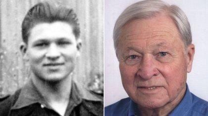 Jean Baudet, francés que fue obligado a trabajar en VW. (Volkswagen)