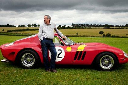 Nick Mason es uno de los propietarios famosos de los pocos Ferrari GTO de principios de los 60. Ronda los 35 millones de Euros.