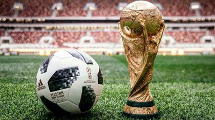Putin le obsequió a Trump una Adidas Telstar 18, la pelota oficial del Mundial