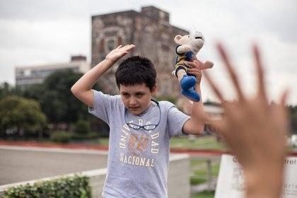 Aunque no deja sus estudios en la UNAM, sí cursará algunas materias en línea (Foto: ADOLFO VLADIMIR /CUARTOSCURO)