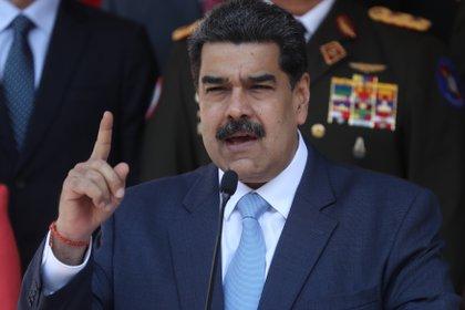 El dictador venezolano Nicolás Maduro (EFE/ Miguel Gutiérrez/Archivo)