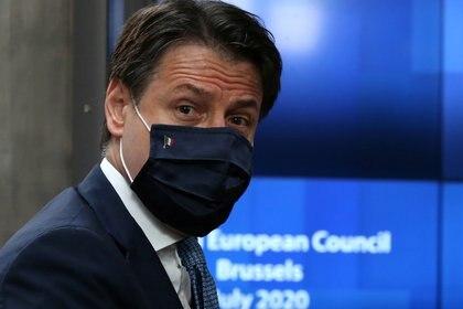 El primer ministro italiano Giuseppe Conte (Francois Walschaerts via REUTERS)