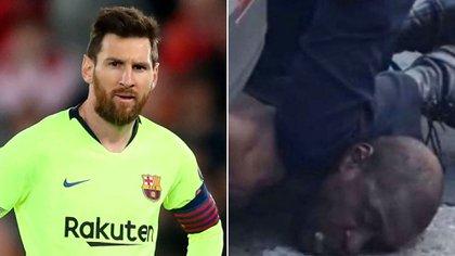 Lionel Messi se unió a la campaña internacional en las redes sociales en contra del racismo