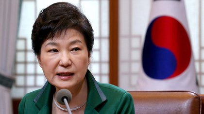 Park Geun-hye, the first female president of South Korea