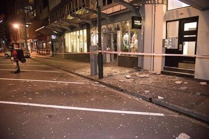 El terremoto provocó fuertes destrozos en Nueva Zelanda