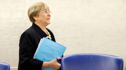 Michelle Bachelet ante la ONU (EFE)
