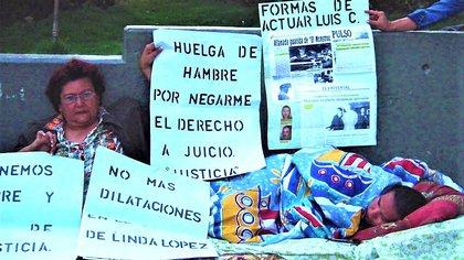 La huelga de hambre que Linda Loaiza hizo para que se efectuara el juicio
