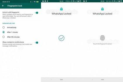 La herramienta busca darle mayor confianza a los usuarios de Android. (Foto: WABetaInfo)