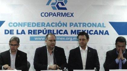 La dirigencia de Coparmex advirtió sobre la ilegalidad de la consulta. (Foto: Coparmex)