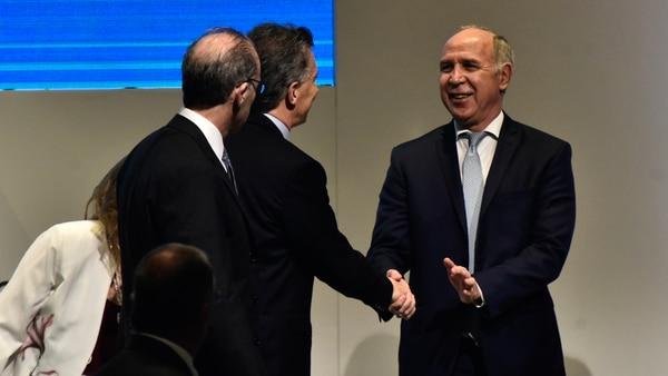 Lorenzetti, Rosenkrantz y el presidente Macri