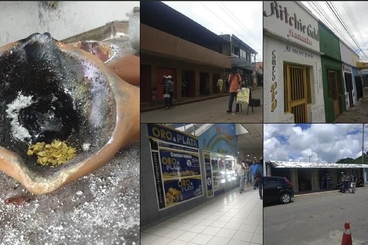 Puntos de compra y venta de oro en Puerto Ordaz. Foto: Lorena Meléndez