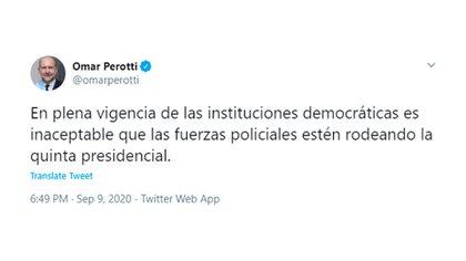 Omar Perotti - @omarperotti