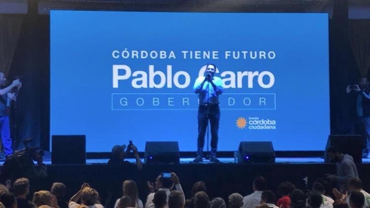 Pablo Carro ex precandidato a gobernador de Córdoba