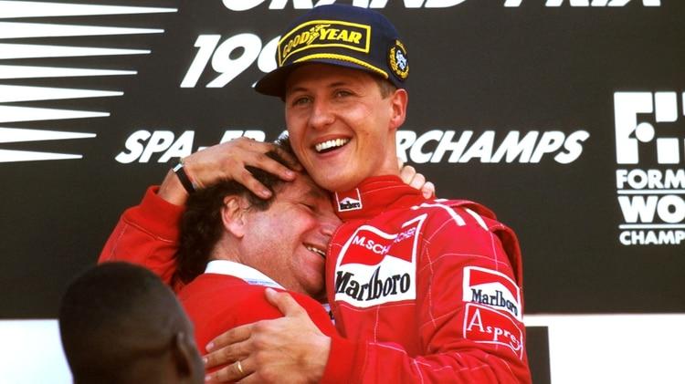 Jean Todt habló con RMC sobre Schumacher