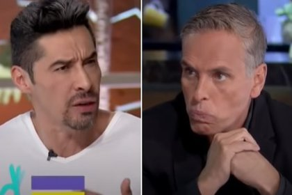 Charly López y Xavier Ortiz fueron acusados y acusados en televisión (captura de pantalla - foto de primera mano)