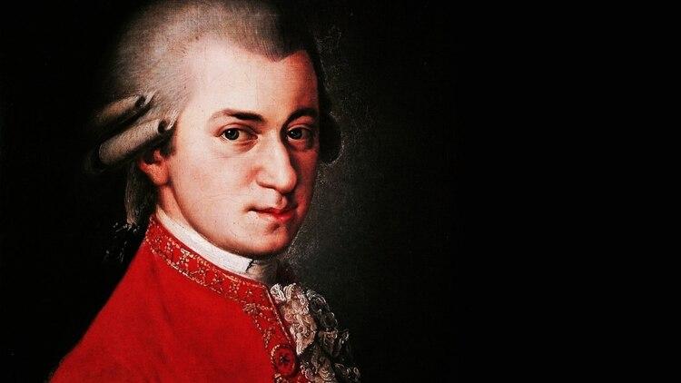 El Mozart famoso: Wolfgang Amadeus, compositor e intérprete.