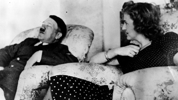 Hitler y Eva Brown (Getty Images)