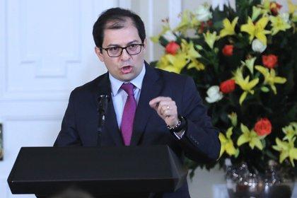 En la imagen, el Fiscal General de la Nación, Francisco Barbosa. EFE/Carlos Ortega/Archivo