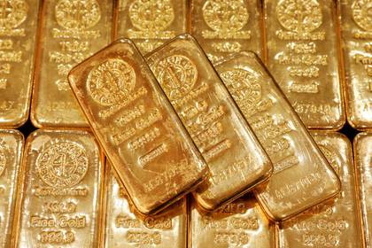 Imagen de archivo de lingotes de oro en la oficina central de GoldSilver en Singapur. 19 junio 2017. REUTERS/Edgar Su