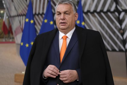 12/10/2020 Viktor Orban, Prime Minister of Hungary EUROPE POLICY HUNGARY INTERNATIONAL MICHAILIDIS / EUC / ZUMA PRESS / CONTACTOPHOTO