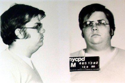 La imagen de Mark Chapman, después de ser detenido por el asesinato de John Lennon (REUTERS/Chip East)