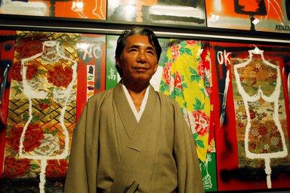 Kenzo Takada, durante su visita a Buenos Aires en 2009 (Reuters)