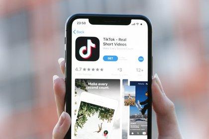 Tik Tok una de las apps más utilizadas en tiempos de cuarentena (Shutterstock)