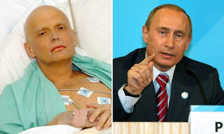 Litvinenko había sido un critico del presidente ruso. Murió envenenado con un elemento radioactivo, polonio 210.