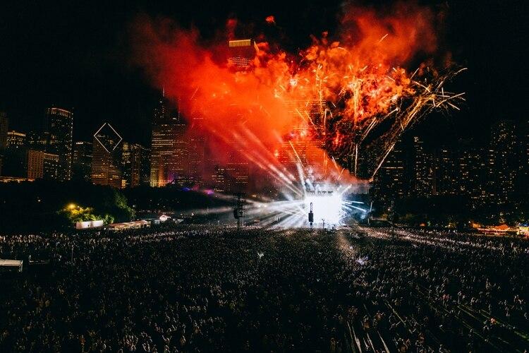 Casi 120 mil personas disfrutaron de la primera jornada de Lollapalooza Chicago