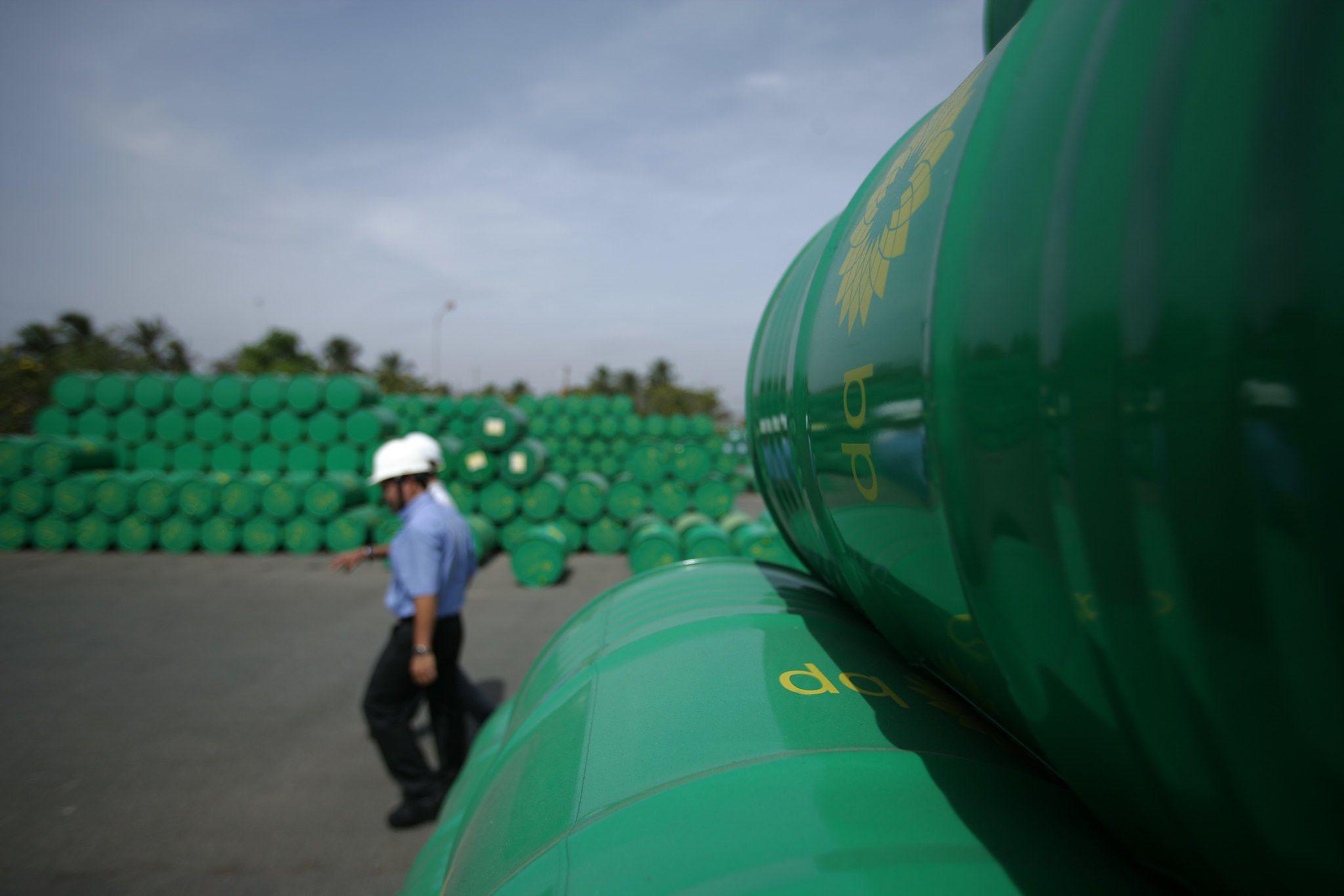 08/06/2020 Almacén de productos de la petrolera BP en Vietnam ECONOMIA BP