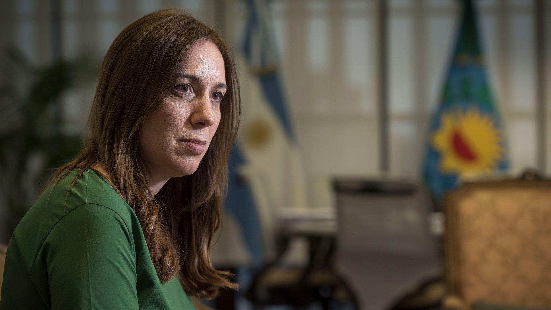 María Eugenia Vidal (foto de archivo: Guille Llamos)