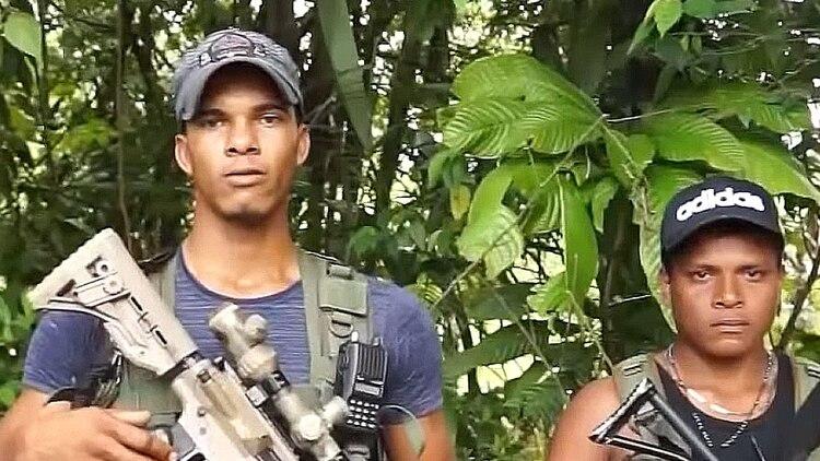 Carlos Arturo Landázuri, alias Comandante Gringo o Fabian, actual jefe del Frente Oliver Sinisterra