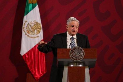 El presidente de México, Andrés Manuel López Obrador, envió su pésame a todas las familias de los fallecidos por COVID-19 (Foto: Galo Cañas/cuartoscuro.com)
