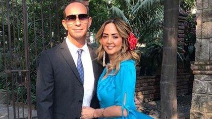 Erik Rubín y Andrea Legarreta se casaron en 2000 (IG: erikrubinoficial)