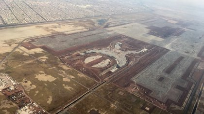ASF corrected the alleged cost overrun of canceling the New Texcoco Airport (Photo: Isabel Mateos / Cuartoscuro)