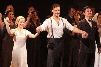 En el 2012 protagonizó Evita junto a Elena Rodgers en Broadway (Credit: Photo by Keystone/Zuma/Shutterstock)