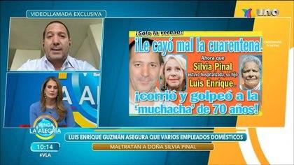 Hace meses Luis Enrique fue acusado de agredir a una empleada doméstica de Silvia Pinal