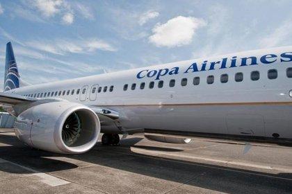 Foto de archivo de un avión de la panameña Copa Airlines