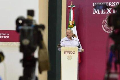 Dante Delgado acusó que el presidente López Obrador se dedica a confrontar a la oposición continuamente (Foto: Cortesía Presidencia)