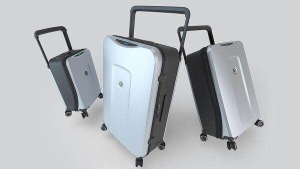 Los tres modelos de la valija smart marplatense
