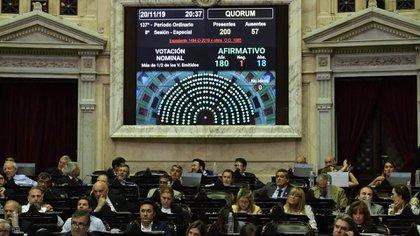 En noviembre la Ley de Góndola tuvo media sanción de la Cámara de Diputados por casi la mayoría