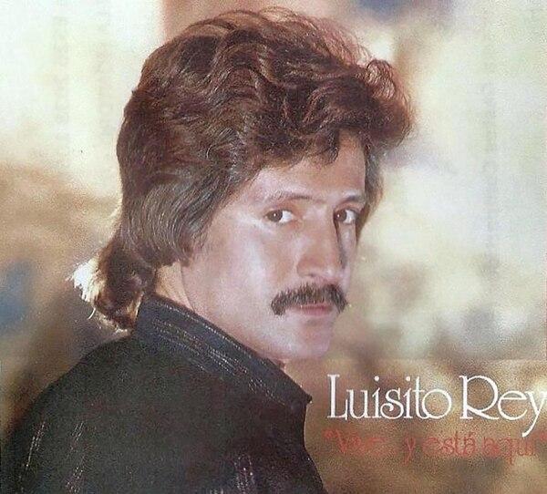 Tapa de uno de los discos de Luisito Rey