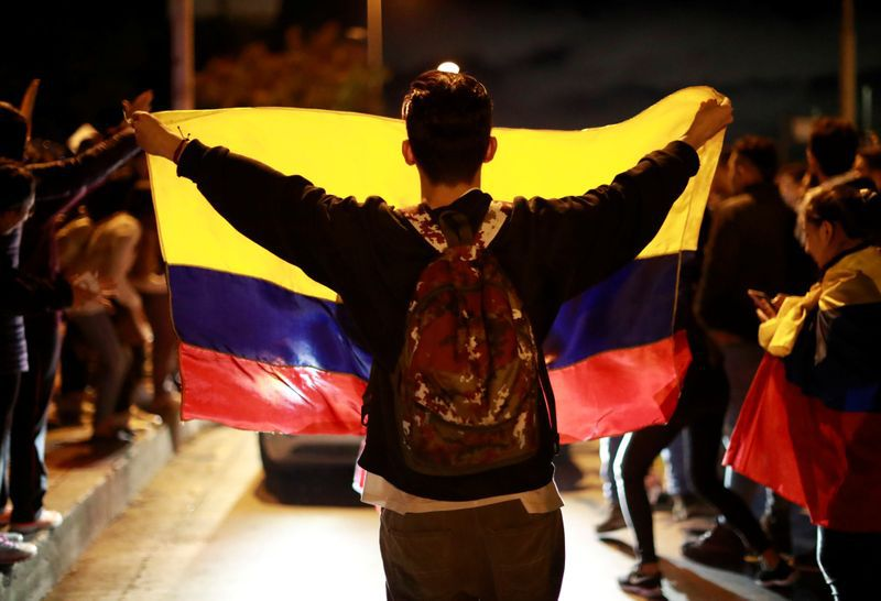 Los colombianos llevan 12 días manifestándose en diferentes ciudades del país (REUTERS/Carlos Jasso)